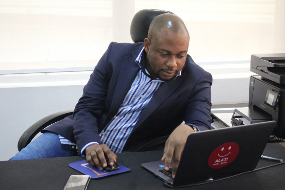 The Chief Digital Officer [CDO] at Alat, Dele Adeyinka