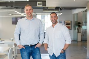 Entersekt CEO, Schalk Nolte and chairman Ramzi Mansour (small)